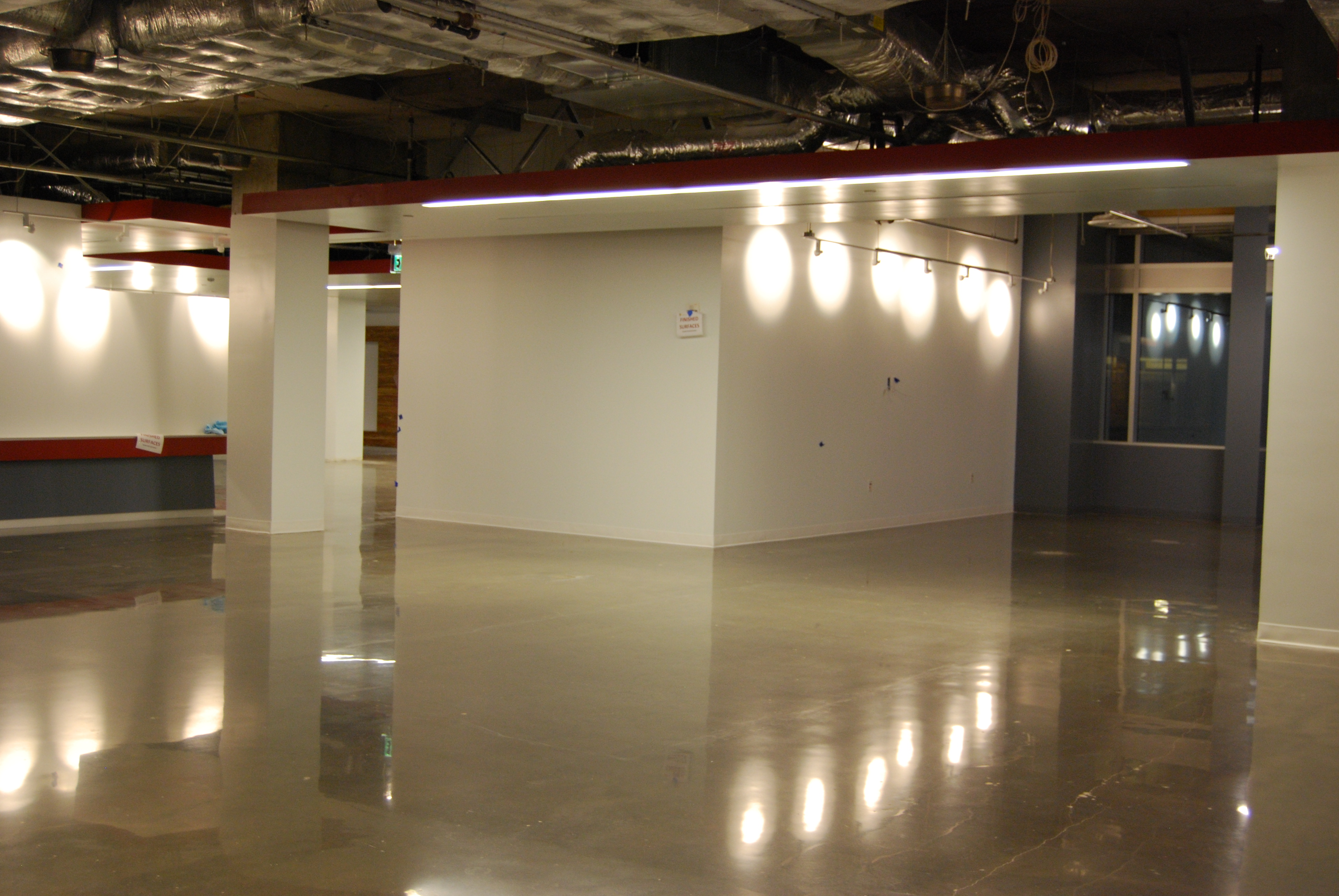 Polished Concrete Low Maintenance Floor Coating
